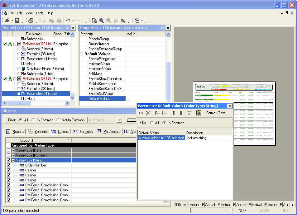 rpt Inspector Professional Suite for Crystal Reports | Software Forces